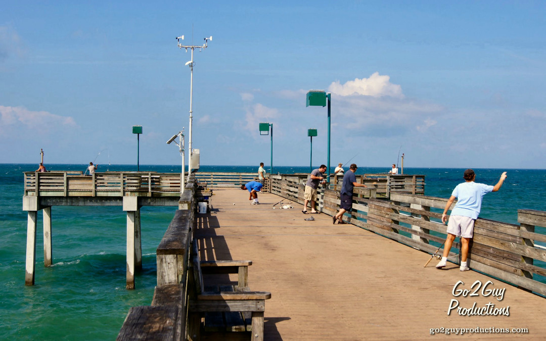 Venice fishing pier addy 39 s villas hotel lodging for Fishing piers in florida