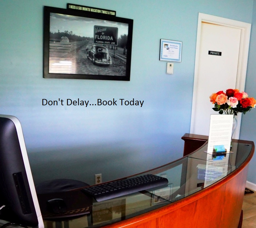 addys reception desk