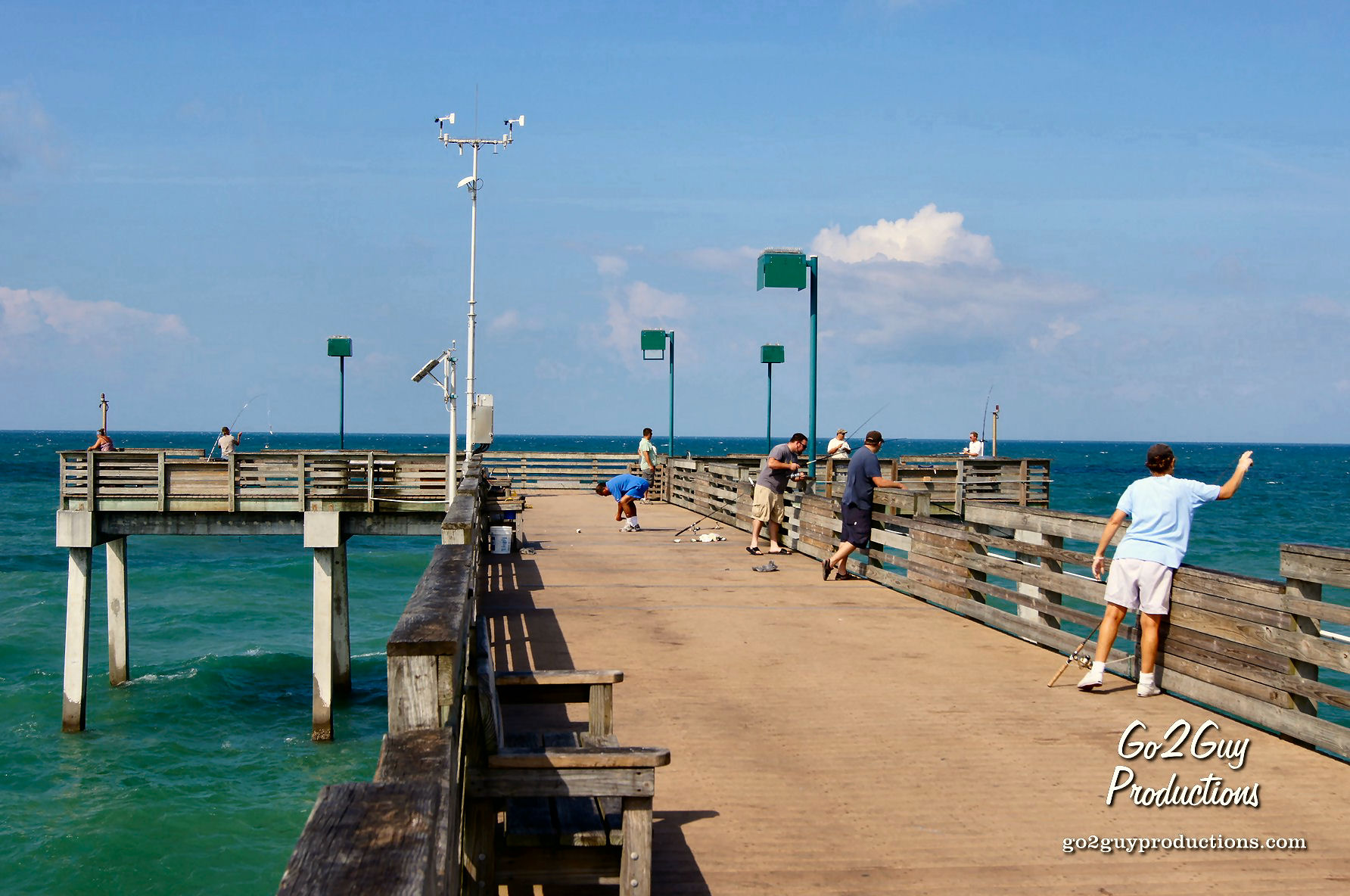 Venice florida guide addy 39 s villas hotel lodging for Do you need a fishing license on a pier